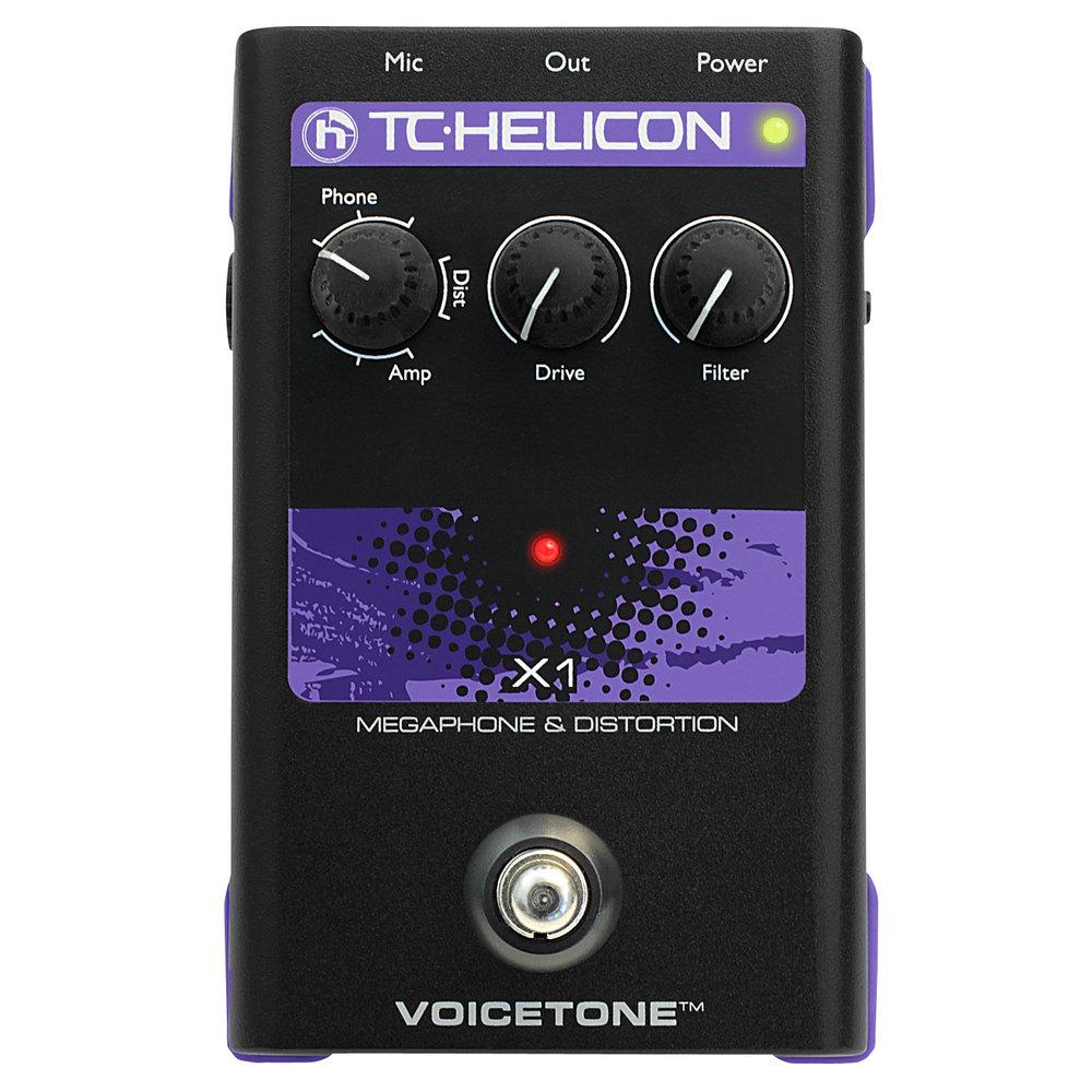 tc helicon voicetone single x1 megaphone distortion vocal effects fx pedal. Black Bedroom Furniture Sets. Home Design Ideas
