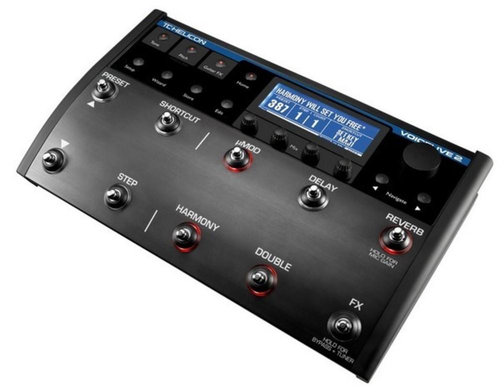 tc helicon voicelive 2 vocal multi effects fx floor pedal voice live. Black Bedroom Furniture Sets. Home Design Ideas