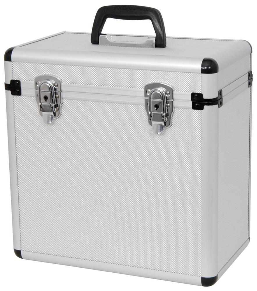 Qtx Sound Aluminium Lp 50 Case Vinyl Flight Case Getinthemix