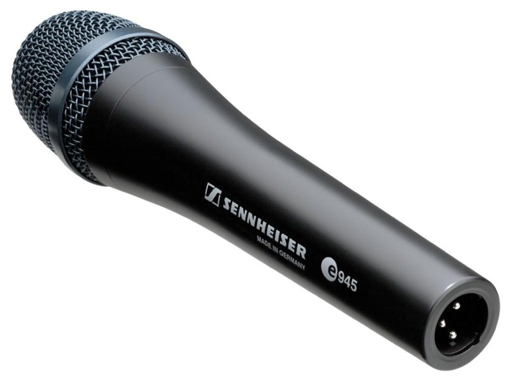 sennheiser e945 dynamic microphone. Black Bedroom Furniture Sets. Home Design Ideas