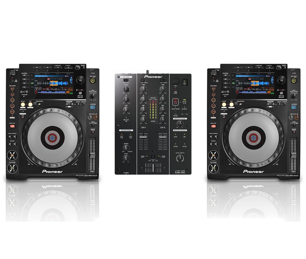 Pioneer CDJ900 Nexus Pair & DJM350