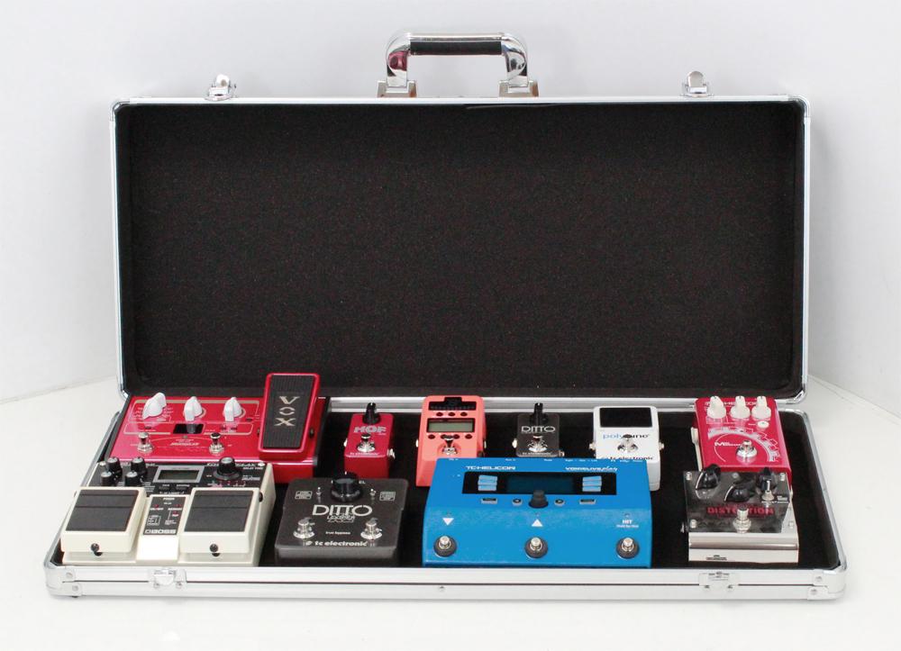 guitar effects pedal board case stagg upc 688. Black Bedroom Furniture Sets. Home Design Ideas