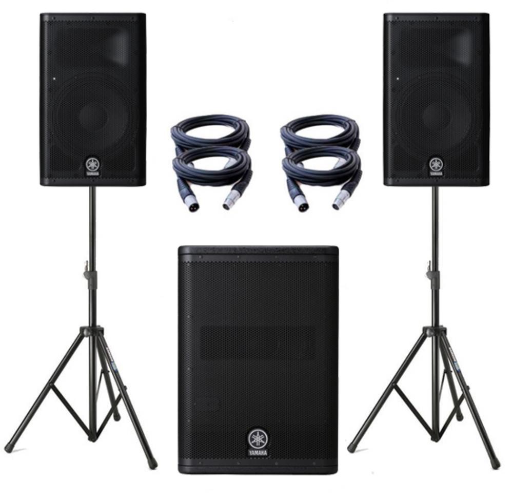 Yamaha A Pa Speakers