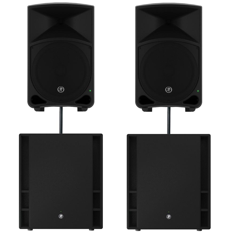 Mackie Thump 12 V3 Speakers Amp Thump 18 V3 Subs Sound