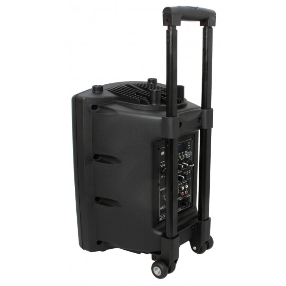 ibiza sound port8vhf bt 400w 8 portable pa speaker. Black Bedroom Furniture Sets. Home Design Ideas