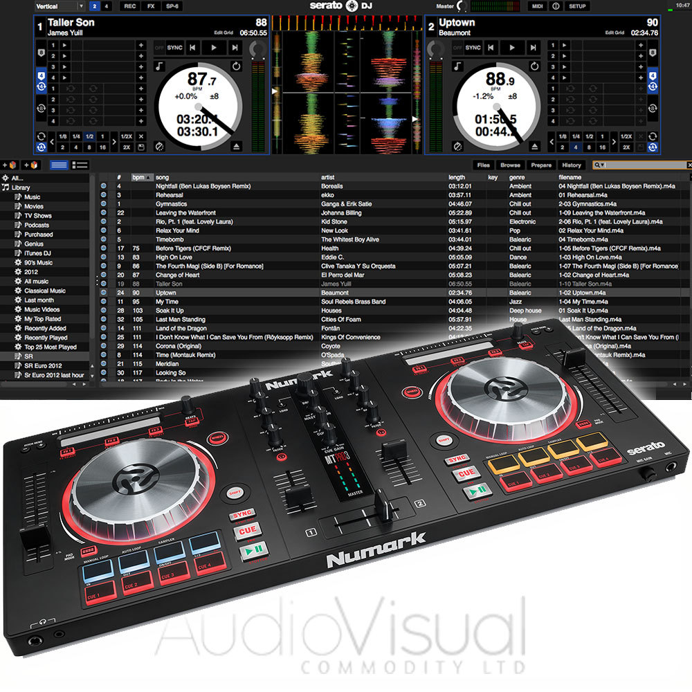 Numark Mixtrack Pro 3 DJ Controller | getinthemix com