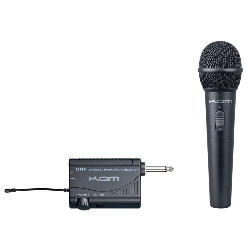 kam kwm1900 hh uhf wireless hand held microphone getinthemix. Black Bedroom Furniture Sets. Home Design Ideas