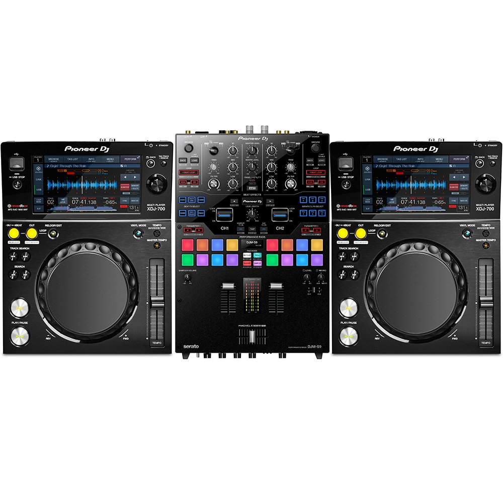 Pioneer xdj 700 and djm s9 package - Table de mixage pioneer djm 5000 ...