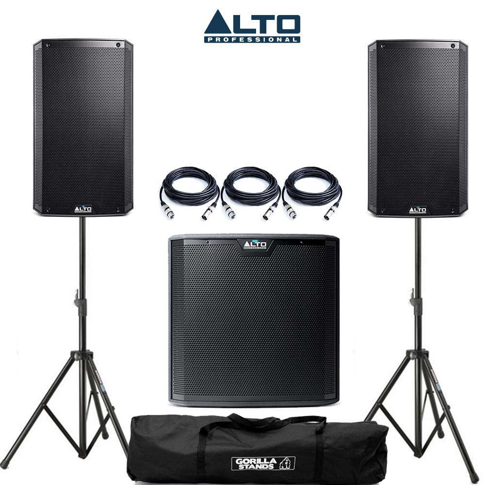 Alto Ts 210 : alto 2x ts210 speakers 1x ts215s sub package ~ Vivirlamusica.com Haus und Dekorationen