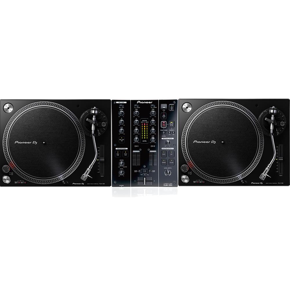 6cc0d701625 Pioneer PLX-500   DJM 350 Turntable Package