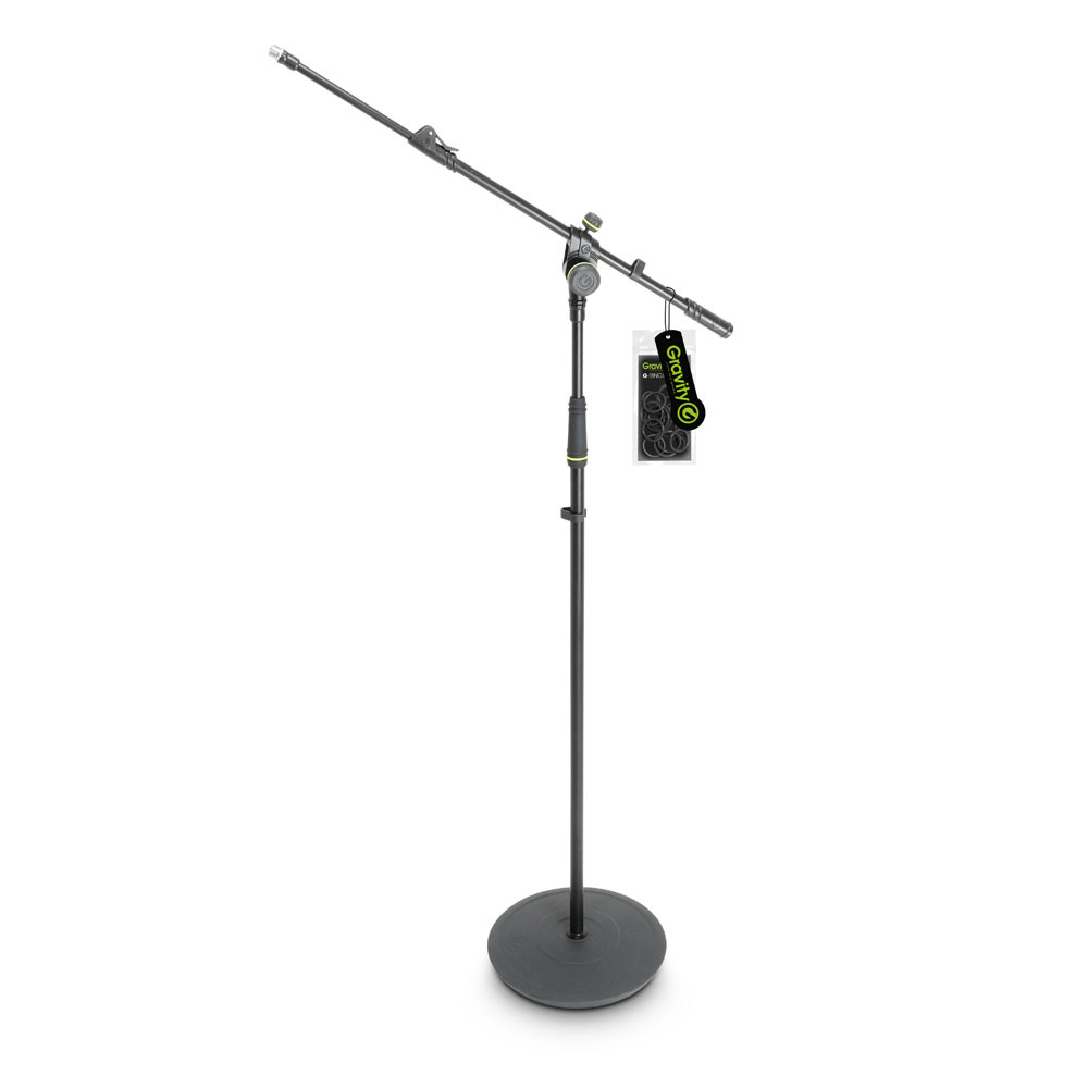 gravity gms2322b microphone stand. Black Bedroom Furniture Sets. Home Design Ideas