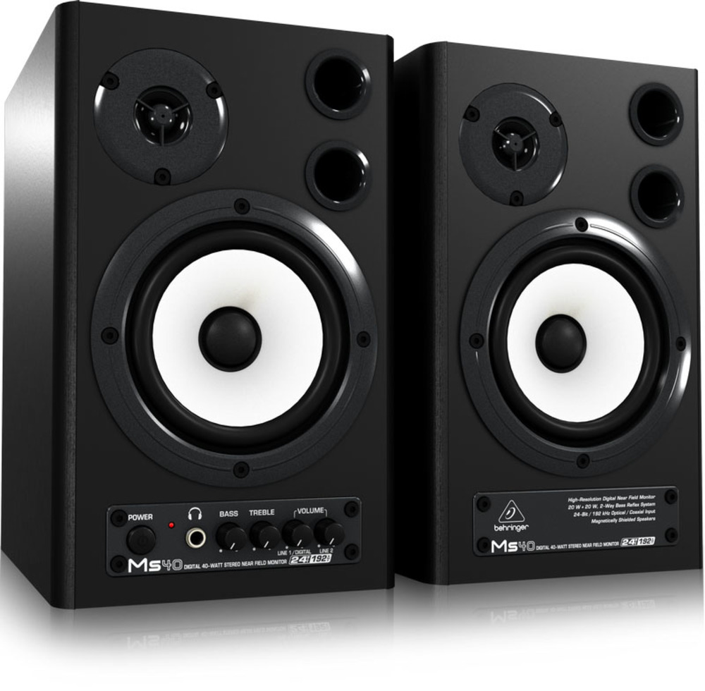Behringer Ms40 Active Studio Monitor Speakers Yamaha Hs5 Powered