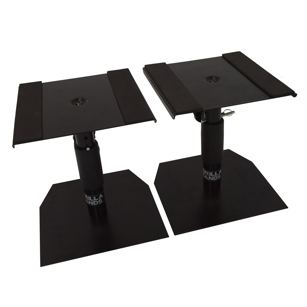 Gorilla Gsm 50 Desktop Studio Monitor Stands Pair