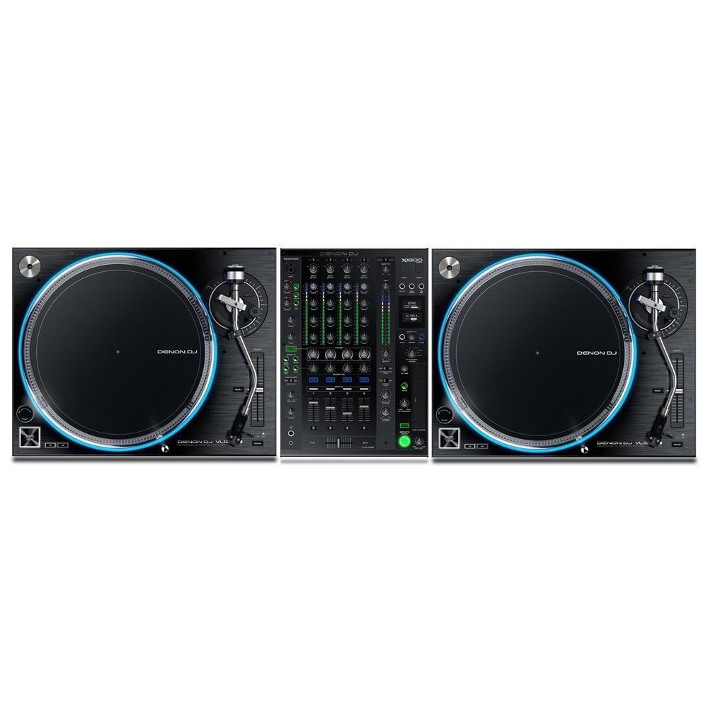 Denon VL12 & X1800 Mixer | getinthemix com