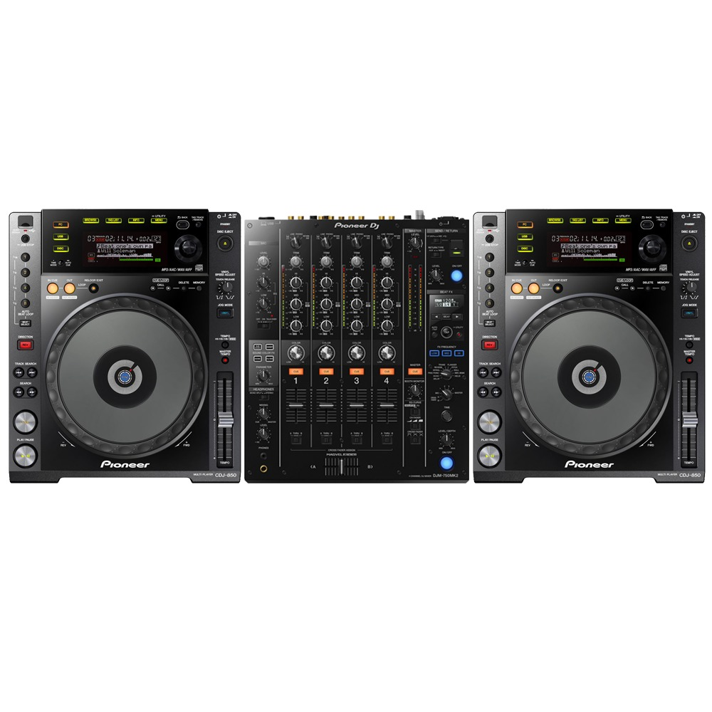 DRIVER UPDATE: PIONEER CDJ-850-K DJ DECK