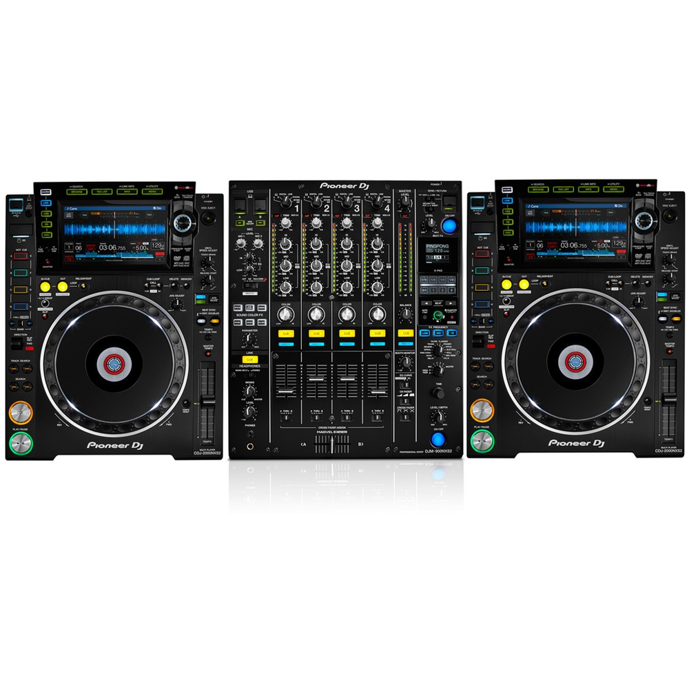 pioneer cdj 2000 nxs2 pioneer djm 900 nxs2. Black Bedroom Furniture Sets. Home Design Ideas