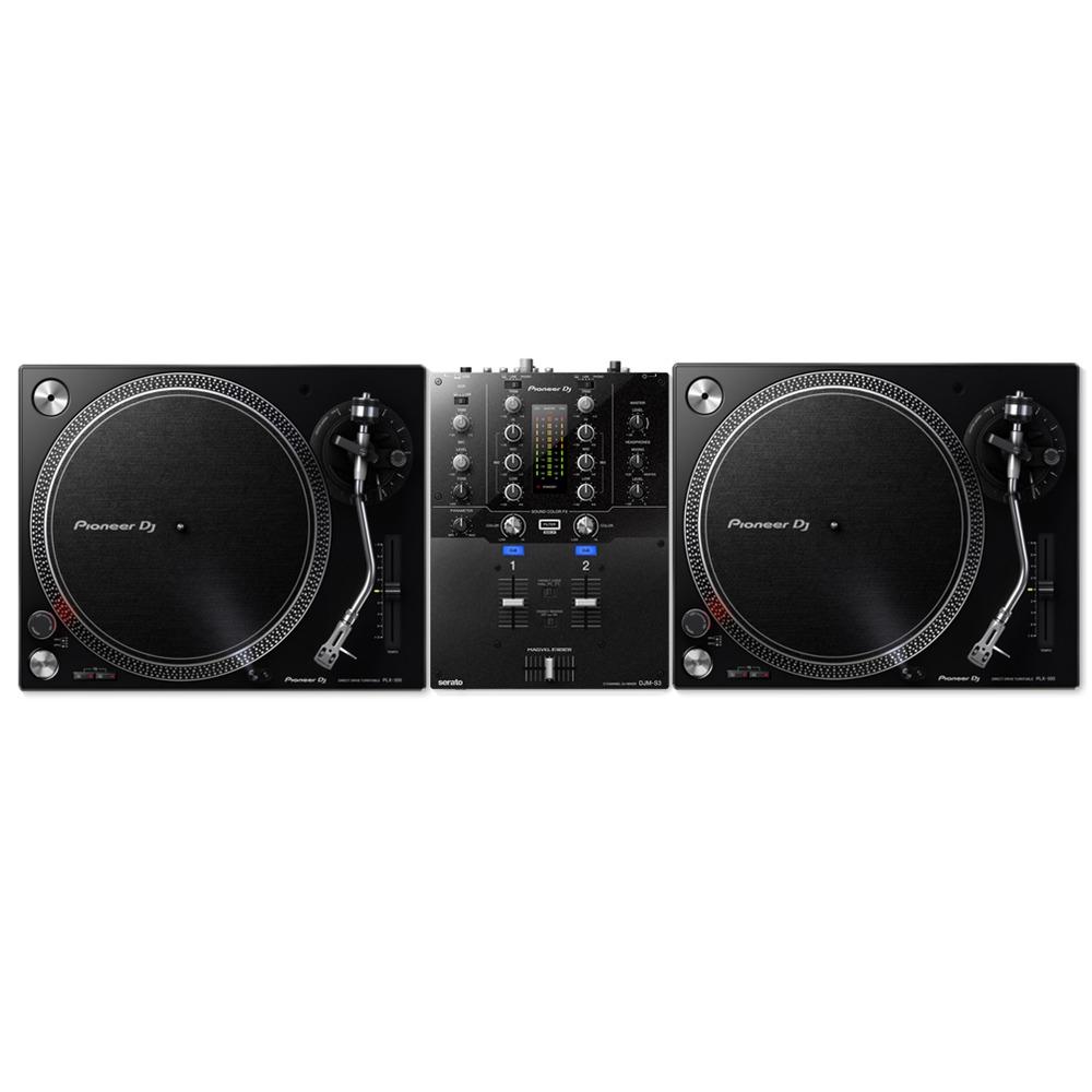 pioneer dj plx 500 djm s3 turntable package. Black Bedroom Furniture Sets. Home Design Ideas