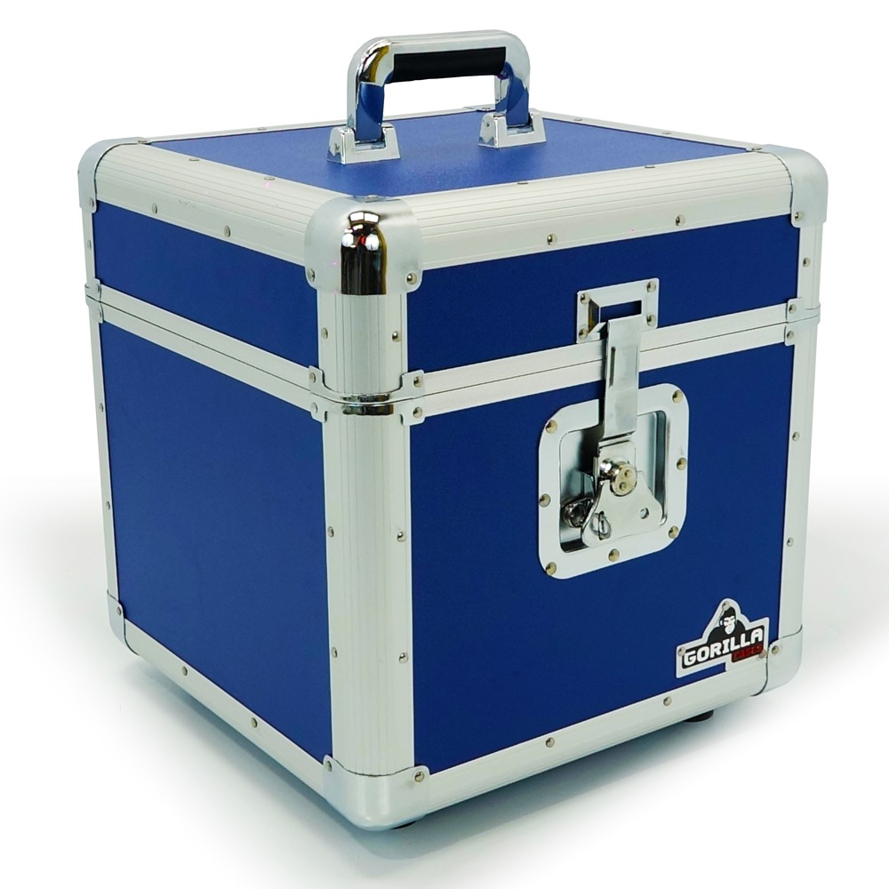 Gorilla Gc Lp100 Blue 12 Vinyl Record Box Getinthemix