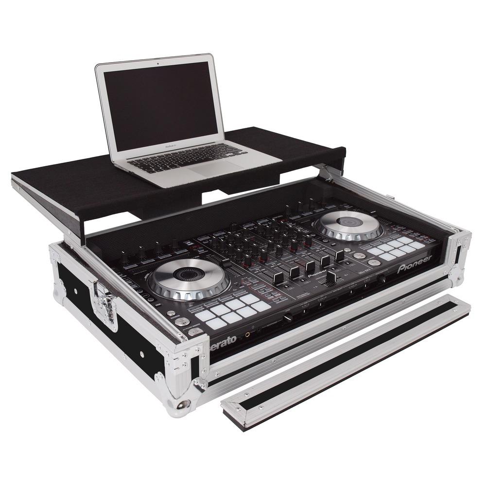 gorilla gc sx pioneer ddj sx flight case with laptop shelf. Black Bedroom Furniture Sets. Home Design Ideas
