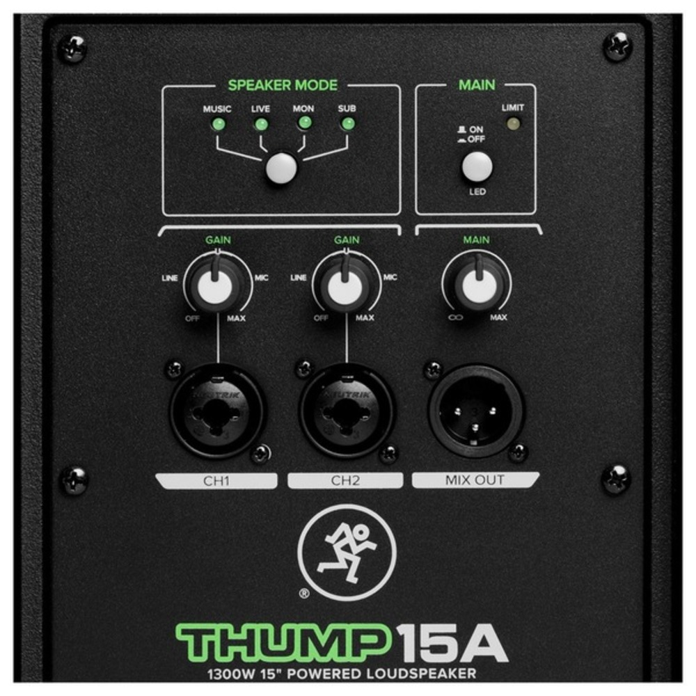 2x Mackie Thump 15a V4 With Stands Cables Wiring Diagrams