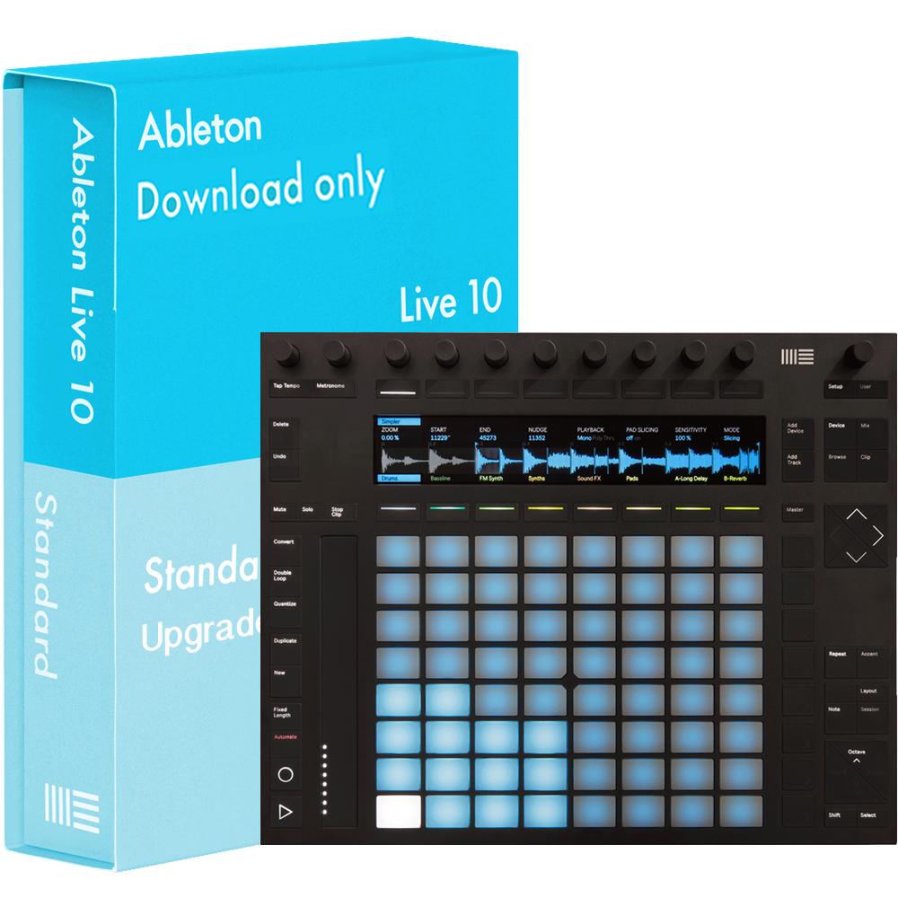 ableton push 2 with live 10 standard download. Black Bedroom Furniture Sets. Home Design Ideas