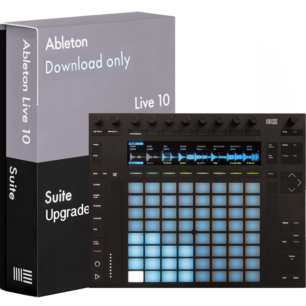 Ableton Push 2 with Live 10 Suite Download | getinthemix com