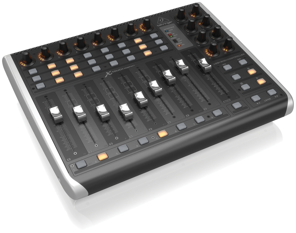 behringer x touch compact universal usb midi controller. Black Bedroom Furniture Sets. Home Design Ideas