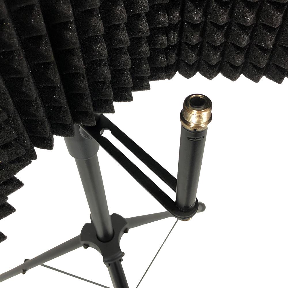 Mic Foam Shield : gorilla complete studio mic shield foam reflection stand getinthemix ~ Vivirlamusica.com Haus und Dekorationen