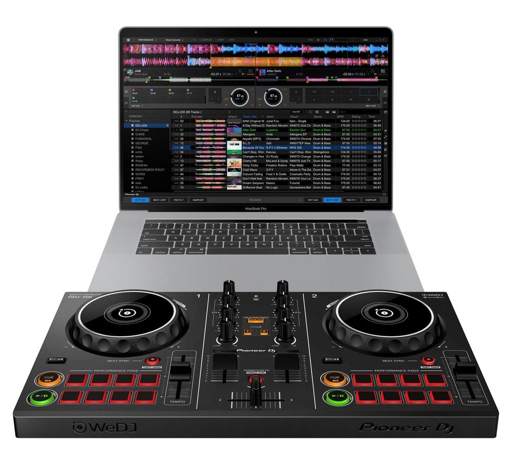 Pioneer DJ DDJ-200   getinthemix com