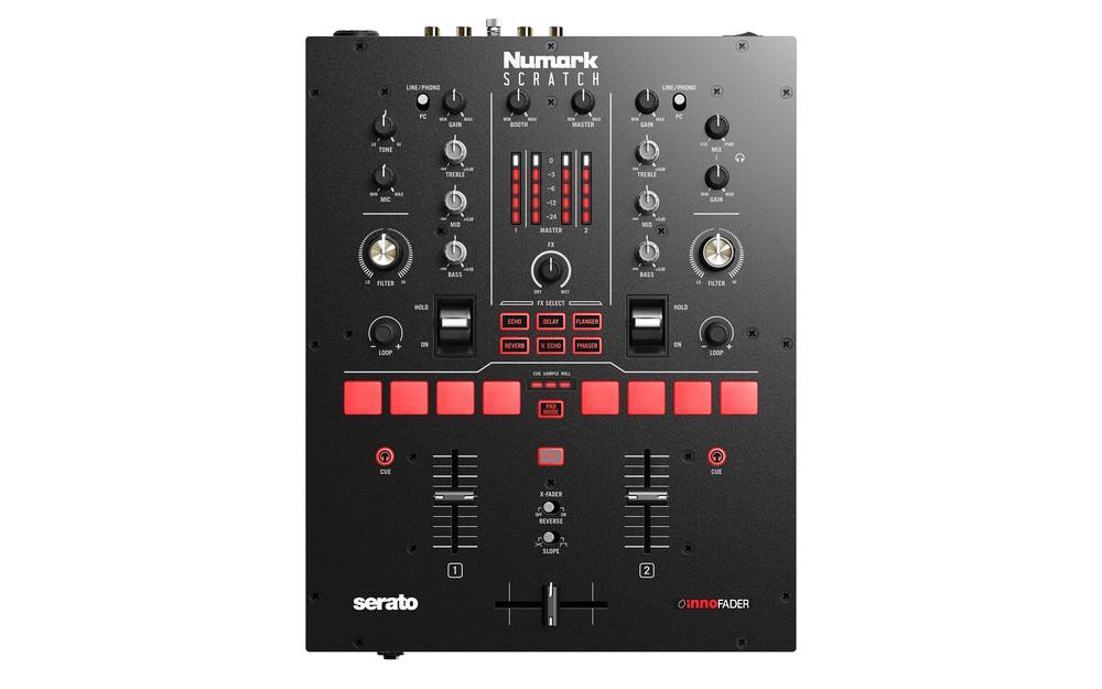 Numark Scratch DJ Mixer   getinthemix com
