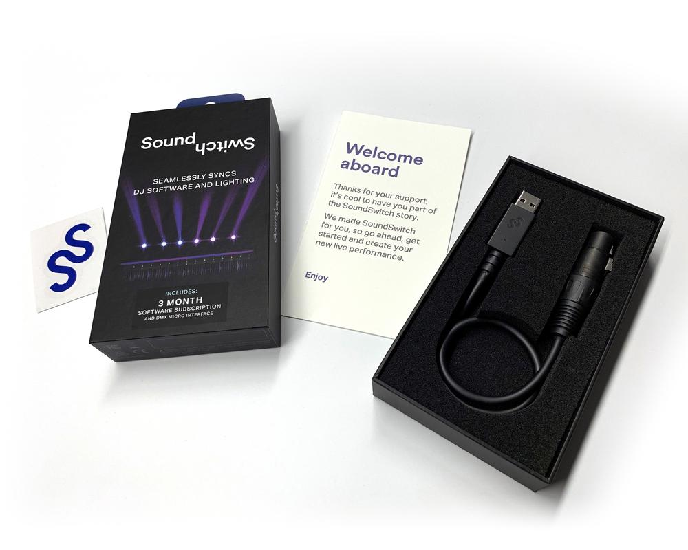 SoundSwitch DMX Micro Interface | getinthemix com