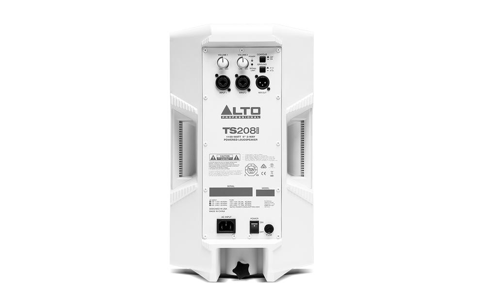 Alto Ts208 White Active Speaker Getinthemix Com