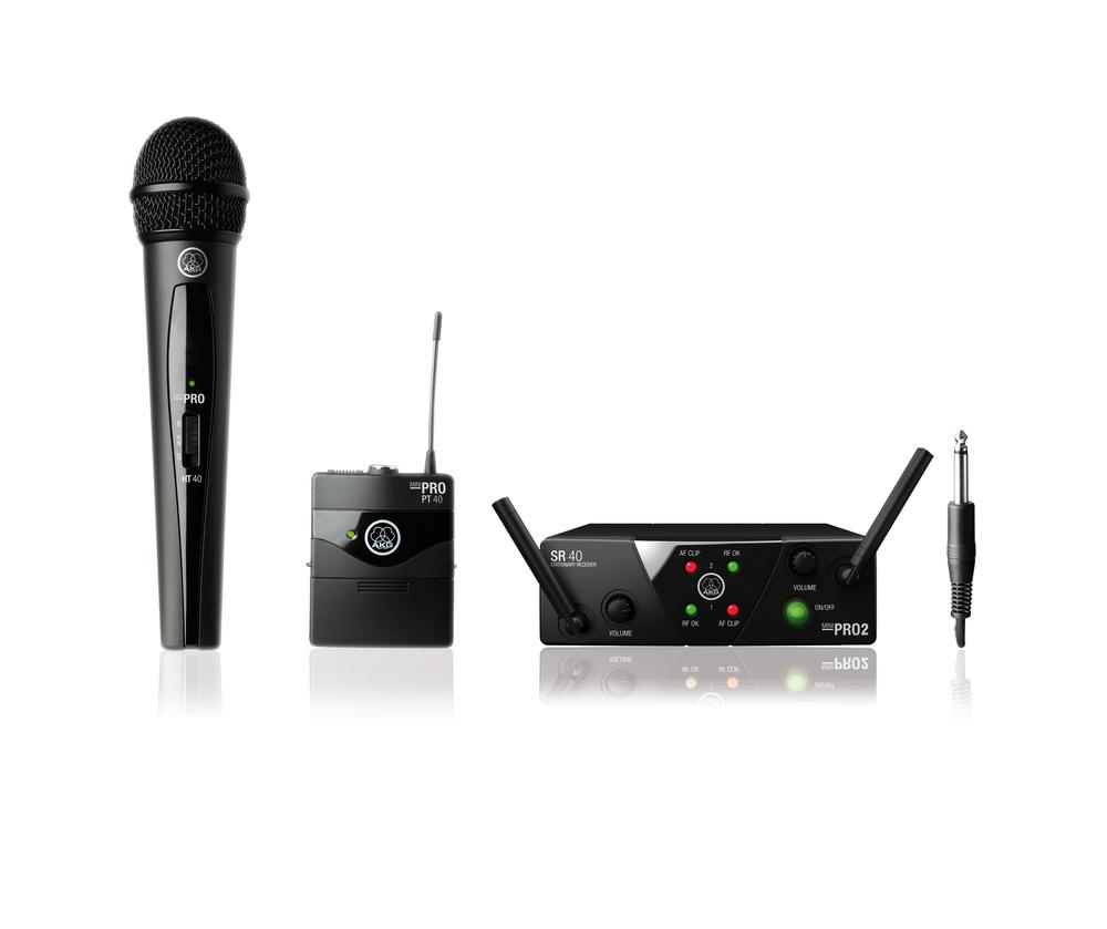 akg wms40 mini dual instrument vocal microphone. Black Bedroom Furniture Sets. Home Design Ideas