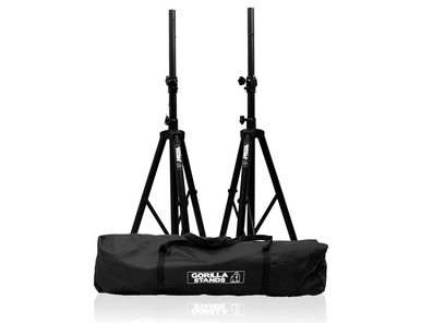 Gorilla Tripod Speaker Stands with Bag Pair