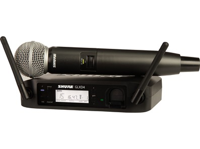 Shure GLXD24/SM58 Digital Wireless Vocal System