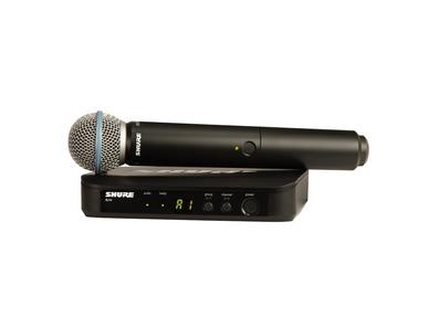 Shure BLX24UK/B58 Handheld Wireless Vocal System
