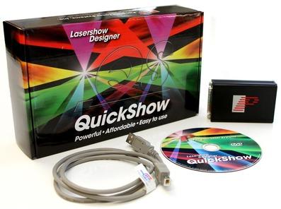 Pangolin Quickshow Laser Software Set
