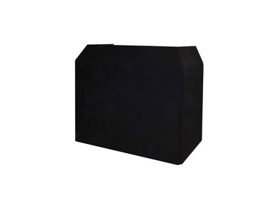DJ Booth Replacement Lycra Cloth BLACK for Gorilla / Equinox
