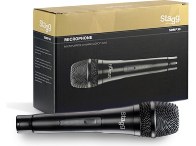 Stagg SDMP30 Switched Dynamic Handheld Vocal Microphone