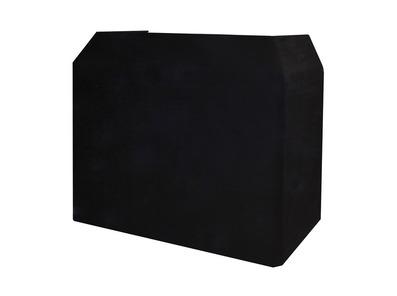 Equinox DJ Booth Booth Black Professional Cloth