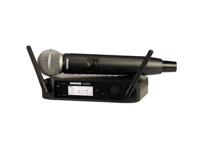 Shure GLXD24/B58 Digital Wireless Vocal System