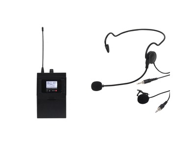 W Audio RM 30BP UHF Beltpack Add On Package (864.8Mhz)
