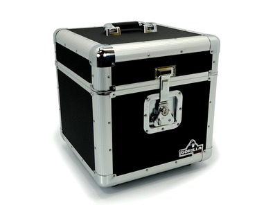 Gorilla LP100 Vinyl Record Storage Case (Holds 100)