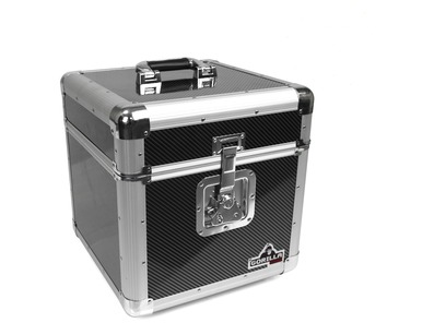 "Gorilla  100x 12"" Vinyl Record Storage Case (Carbon)"