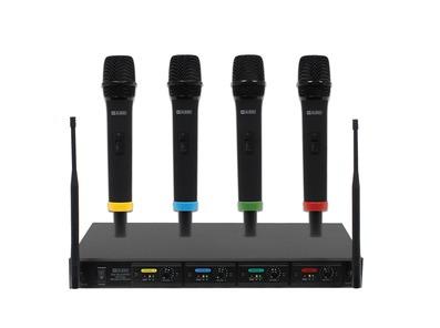 W Audio RM Quartet Handheld Radio Mic System