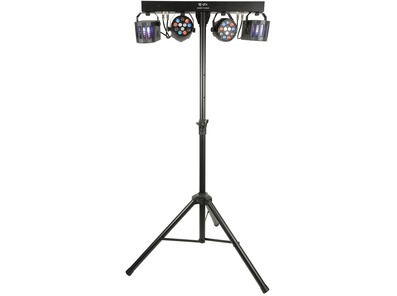 QTX Derby FX Bar LED Party Bar with Stand