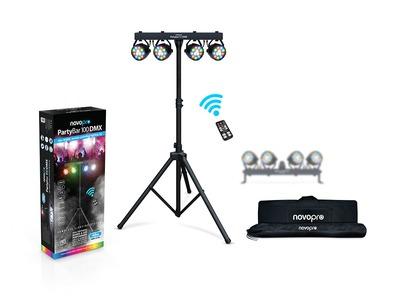Novopro Partybar 100 DMX Lighting System
