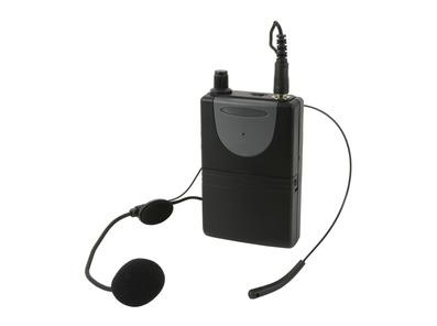 QTX Neckband Mic + Beltpack for QRPA & QXPA
