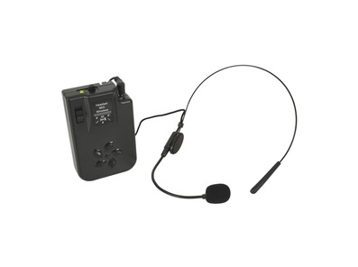 QTX Headset Microphone for Busker, Quest & PAL 175.0 MHz