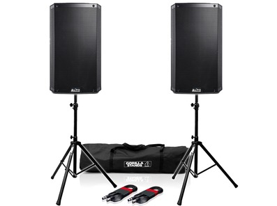 Alto TS315 (Pair) with Stands & Cables